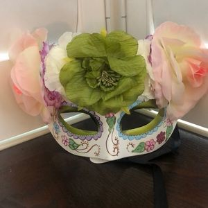 Masquerade- Day of the Dead- Halloween Mask